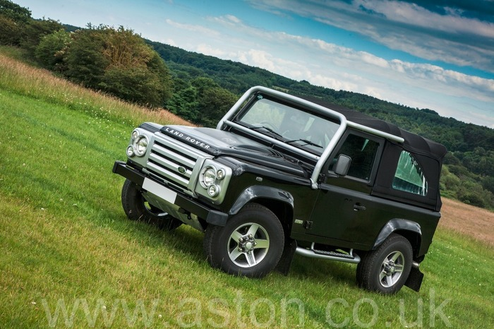 2008 Land Rover Defender SVX