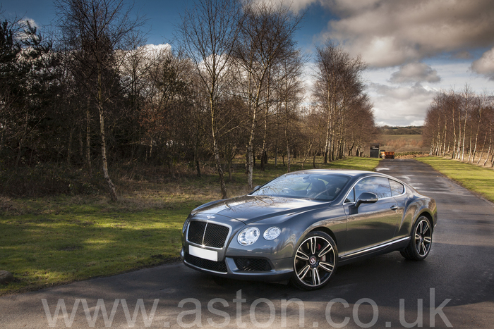 2012 Bentley Continental GT V8 Mulliner Driving Pack