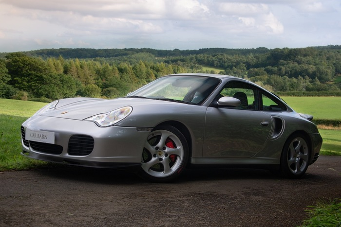 PORSCHE 911 (996) TURBO COUPE MANUAL 2DR