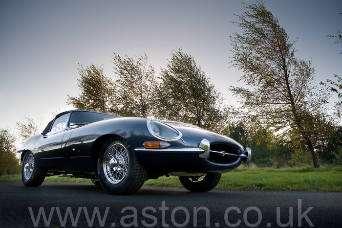 1961 Jaguar E-Type 3.8 Roadster